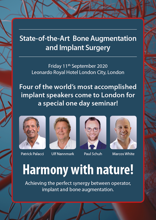 State Of The Art Bone Augmentation and Implant Surgery in London