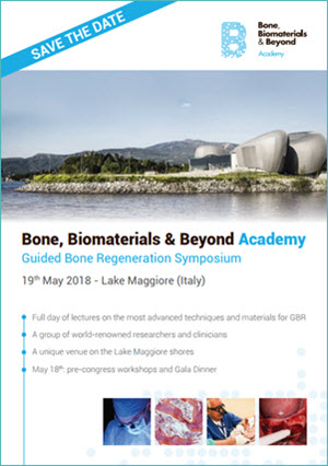 The Bone, Biomaterials & Beyond Academy - Guided Bone Regeneration Symposium