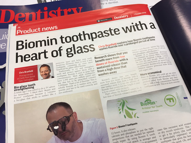 Biomin Toothpaste Heart Of Glass Article