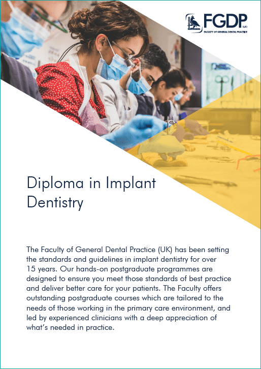 FGDP Diploma in Implant Dentistry