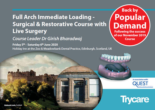 Full Arch Immediate Loading - Surgical & Restorative Course with Live Surgery