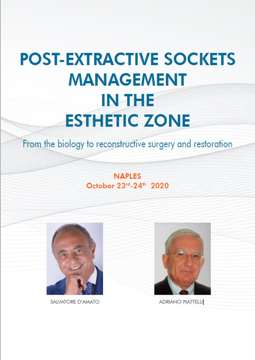 Post-extractive Sockets Management In The Esthetic Zone Course