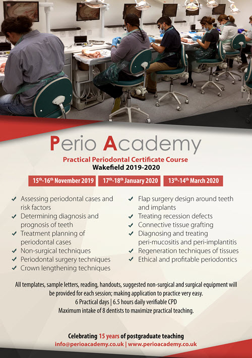 Periodontal Certificate Course in Wakefield