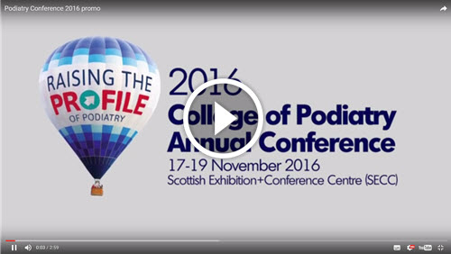 College Of Podiatry Annual Conference & Exhibition