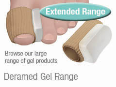 Deramed digital gel products