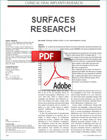 adin surfaces research
