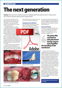 Osteobiol article in the IDT magazine