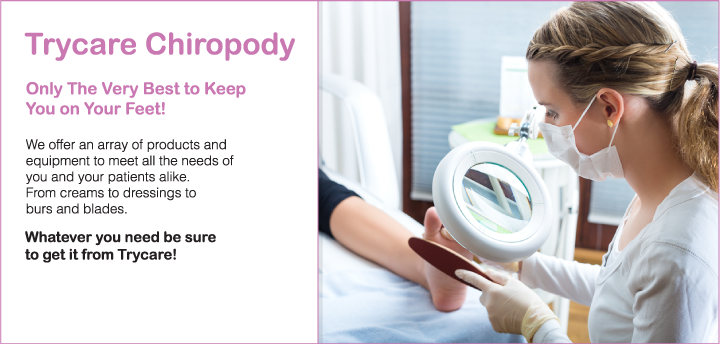 27,000 chiropody & podiatry supplies & products
